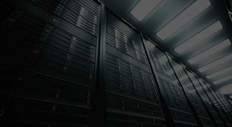 image of servers for managed services page